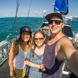 Julian and Anika Visit the Great Barrier Reef